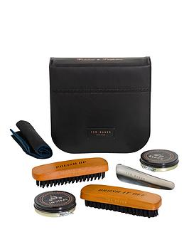 ted-baker-black-brogue-shoe-shine-kit