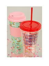 Unicorn Travel Mug & Straw Cup Twin Set