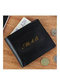 the-personalised-memento-company-personalised-monogram-black-leather-wallet