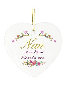 personalised-nan-hanging-heart