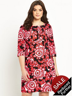 so-fabulous-crepe-print-shift-dress