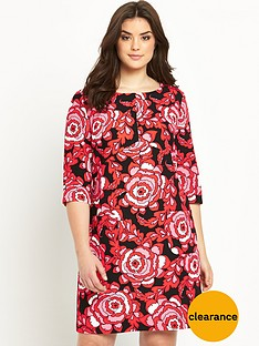 so-fabulous-crepe-print-shift-dress