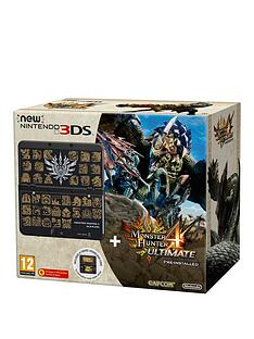 nintendo-3ds-with-monster-hunter-4-and-coverplate