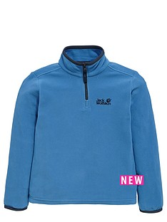 jack-wolfskin-jack-wolfskin-boys-gecko-14-zip-fleece-top