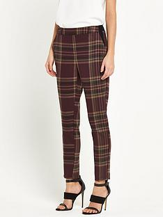 river-island-checked-tapered-trousers