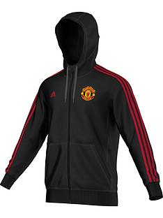adidas-manchester-united-3-stripe-full-zip-hooded