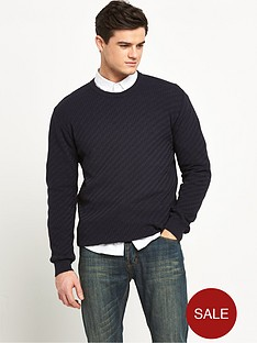 v-by-very-brick-design-mens-jumper