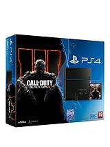500Gb Black Console with Call of Duty: Black Ops 3 and Optional 12 Months Playstation Plus and/or Dual Shock Controller 4