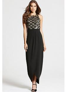 little-mistress-little-mistress-maxi-dress-with-sequin-top