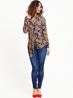 myleene-klass-paisley-printed-blouse