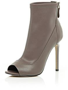 river-island-peep-toe-stretch-ankle-boot