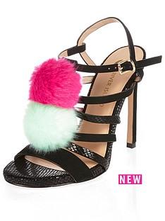 river-island-bright-pom-pomnbspstrappy-heeled-sandals