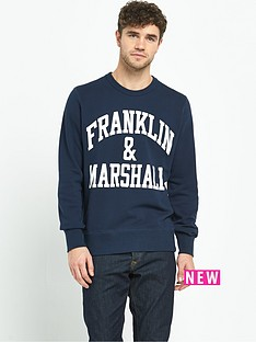 franklin-marshall-logo-mens-sweatshirt