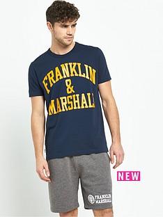 franklin-marshall-franklin-amp-marshall-arch-logo-t-shirt
