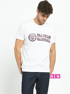 franklin-marshall-logo-mens-t-shirt