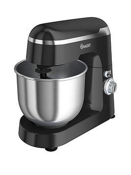 swan-sp25010blkn-retro-stand-mixer-black