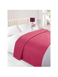 plain-fleece-blanket-fuchsia