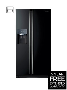 samsung-rs7567bhcbceu-frost-free-american-style-fridge-freezer-with-twin-cooling-plustrade-system-next-day-delivery-black