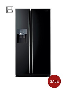 samsung-rs7567bhcbcnbspfrost-free-american-style-fridge-freezer-with-twin-cooling-plustrade-system-next-day-delivery-silver