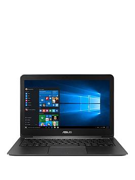 Asus UX305FA Intel Core M, 8GB RAM, 128GB Solid State Drive Storage, 13.3 inch Laptop - Black