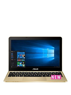 asus-x205ta-intel-atom-2gb-ram-32gb-storage-116-inch-laptop-with-1-year-subscription-microsoft-office-personal-2016-gold