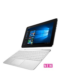 asus-t100ha-intel-atom-2gb-ram-64gb-storage-101in-laptop-with-1-year-subscription-microsoft-2016--whi