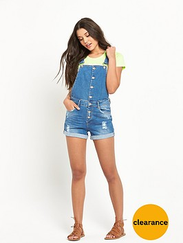 superdry-boy-short-dungaree