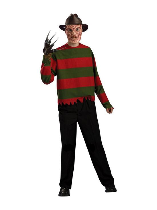 Elegant Freddie Krueger Adult Costume | Very.co.uk