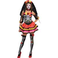 Halloween   Day Of The Dead Senorita   Adult Costume by