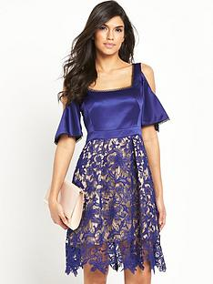 v-by-very-lace-cold-shoulder-dress