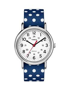 timex-weekender-white-dial-with-navy-ampnbspwhite-dots-strap-ladies-watch