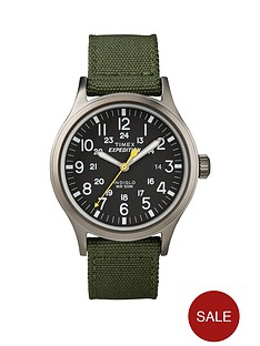 timex-black-dial-with-green-nylon-strap-mens-watch