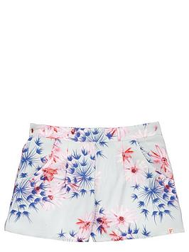 french-connection-girls-floral-print-shorts