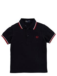 fred-perry-boys-twin-tipped-polo-shirt