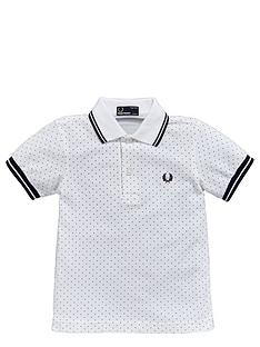 fred-perry-younger-boys-polka-dot-polo-shirt