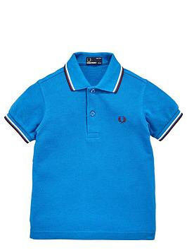fred-perry-younger-boys-twin-tipped-shirt