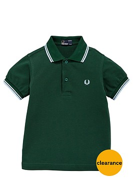 fred-perry-younger-boys-twin-tipped-polo-shirt