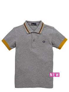 fred-perry-boys-striped-collar-polo-shirt