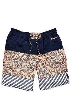 animal-skull-swimshort