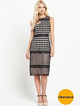 miss-selfridge-geo-lace-pencil-dress