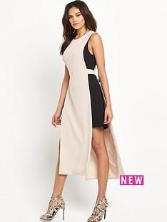miss-selfridge-miss-selfridge-trim-side-tunic-dress