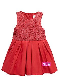 name-it-younger-girls-lace-bodice-pleatednbspdress-9-months-4-years
