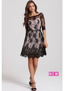 little-mistress-border-lace-bardot-dress
