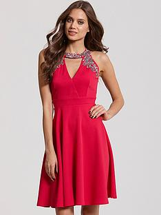 little-mistress-embellished-cut-out-dress