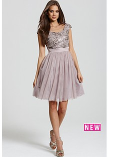 little-mistress-sequin-fit-n-flare-dress