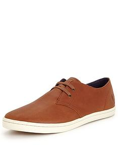 fred-perry-byron-low-leather-mens-plimsolls