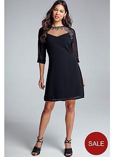 little-mistress-embellished-tunic-dress