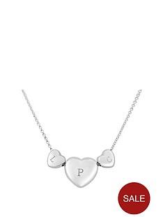 keepsafe-personalised-sterling-silver-triple-heart-pendant