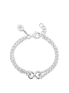keepsafe-sterling-silver-double-row-infinity-bracelet-with-personalised-clip-charm