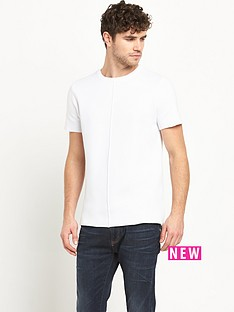 river-island-knitted-side-zip-tshirt